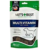 Vets Best Multi-Vitamin Soft Chews Dog Supplements, 30 Day Supply