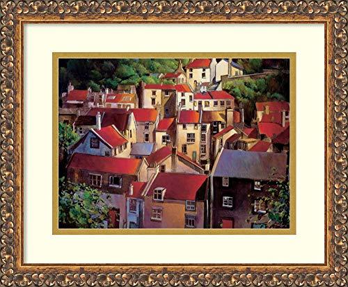 Framed Wall Art Print Rooftops II by Michael Otoole 17.62 x 14.50 ()