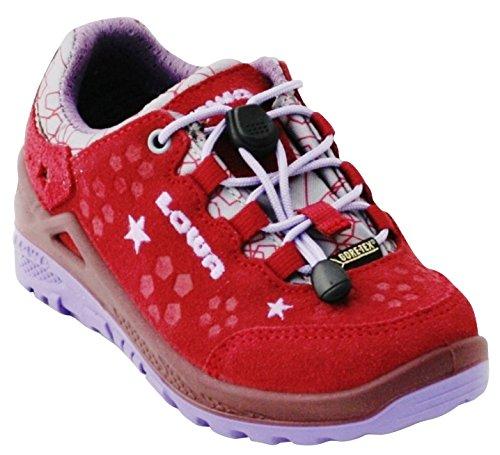 Lowa Unisex Kids' Diego GTX Lo Hiking Boots beere/lila RBIkngy