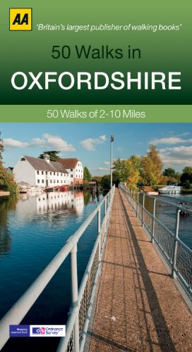 50 Walks in Oxfordshire: 50 Walks of 2–10 Miles