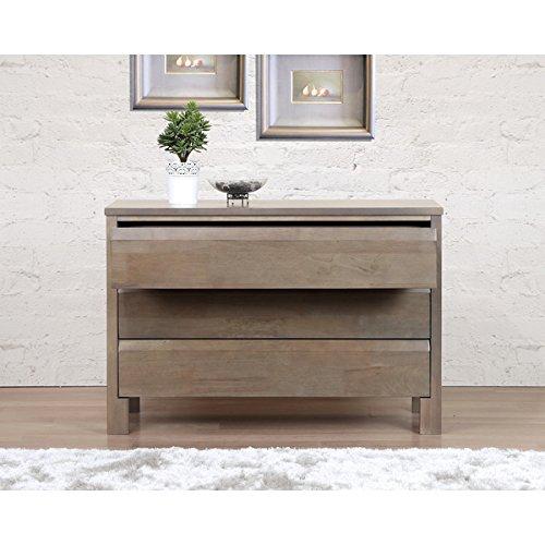 Alsa Gray 3-drawer Dresser
