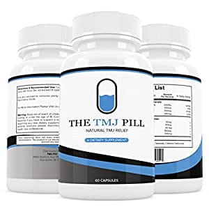 The TMJ Pill #1 Recommended TMJ Relief Treatment, An Ongoing TMJ Treatment Supplement to Help Naturally Provide TMJ Pain Relief