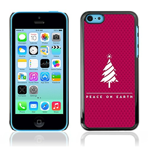 DREAMCASE Citation de Bible Coque de Protection Image Rigide Etui solide Housse T¨¦l¨¦phone Case Pour APPLE IPHONE 5C - PEACE ON EARTH