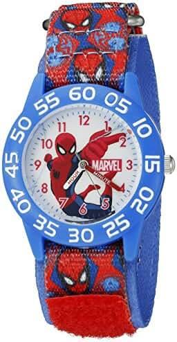 Marvel Spider-Man Kids' W002598 Spider-Man Analog Display Analog Quartz Red Watch