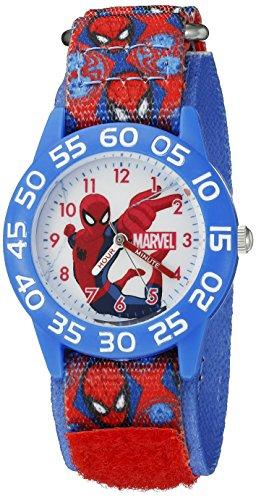 marvel-spider-man-kids-w002598-spider-man-analog-display-analog-quartz-red-watch