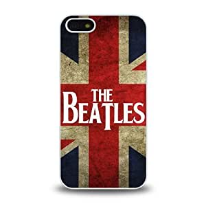 iPhone 5 5S case protective skin cover with forever rock band The Beatles cool poster design #8 hjbrhga1544