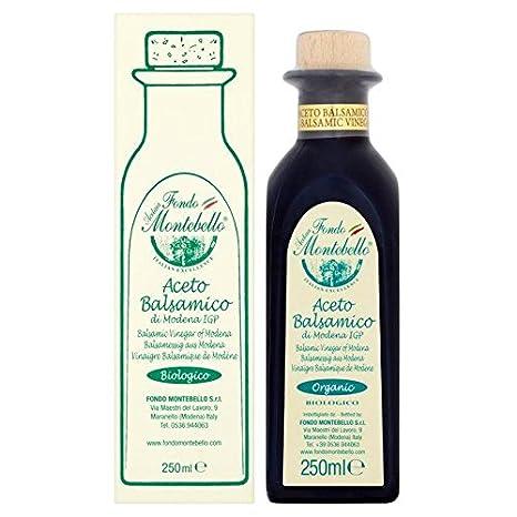 Amazon.com : Fondo Montebello Organic Aged Balsamic Vinegar of ...