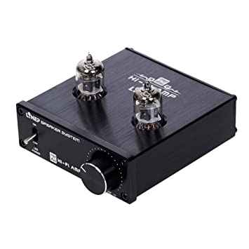 P Prettyia HiFi 6J1 Preamplificador de Audio Tubo Vacío Circuito Optimizado Módulo de Aplicación Universal