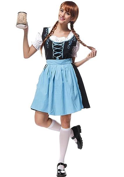 Oktoberfest Costume Donna Da Bavarese Bozevon Abito Dirndl xn8waaXgq