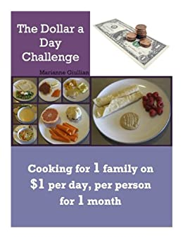 The Dollar a Day Challenge by [Giullian, Marianne]