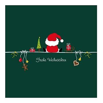 Bilder Weihnachtskarten.10er Pack Geschenkkarten Frohe Weihnachten Weihnachtsmann Weihnachtskarten Ohne Umschläge Geschenkanhänger Anhänger Anhängerkarte Klappkarte