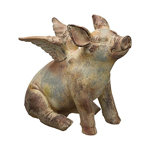 Regal Art & Gift Flying Pig Statue 11