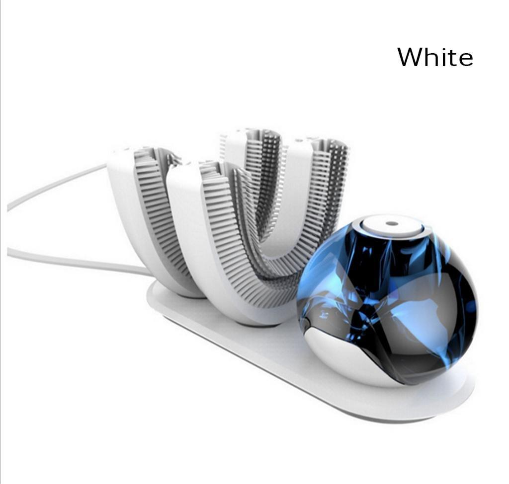魅力の 自動ブラッシング装置、電動セミスマートワイヤレス、自動怠惰な歯ブラシ、360°ブラッシング、2つのブラシヘッド,ホワイト White White B07DGWMVY3 B07DGWMVY3, MOGGIE CO-OP:5cb8de60 --- mvd.ee