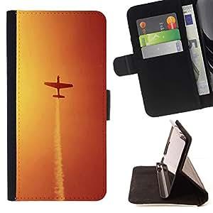 Momo Phone Case / Flip Funda de Cuero Case Cover - Maniobras de aeronaves - HTC One M9