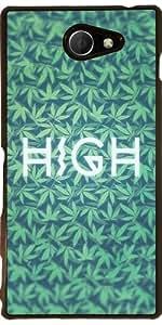 Funda para Sony Xperia M2 - Alta Errata! Cannabis / Cáñamo by badbugs_art