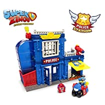 Superzings - Estación De Policía, con 2 exclusivas figuras SuperZings
