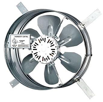 Dayton 10w199 Gable Attic Ventilator 120v 1650 Cfm