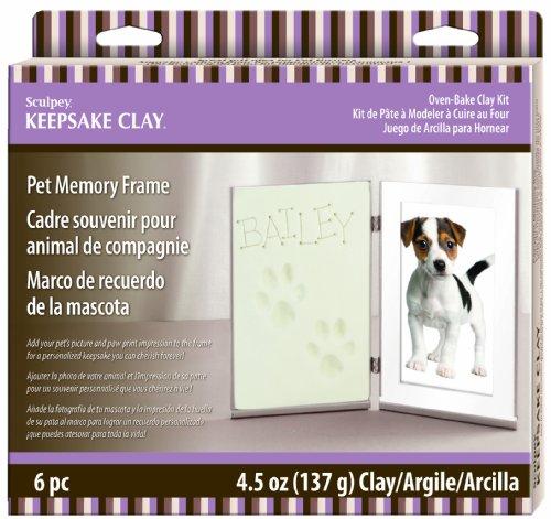 Polyform Products Sculpey Pet Memory Frame Keepsake, My Pet Supplies