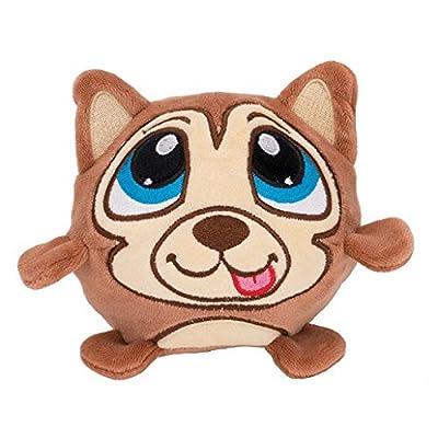 Crunchimals - Holly Crunch (Cat) - 6 inch Crunchable Stuffed Animals Plush Snuggle Buddy Cuddly Soft Toy Dolls Gift - Series 1: Toys & Games