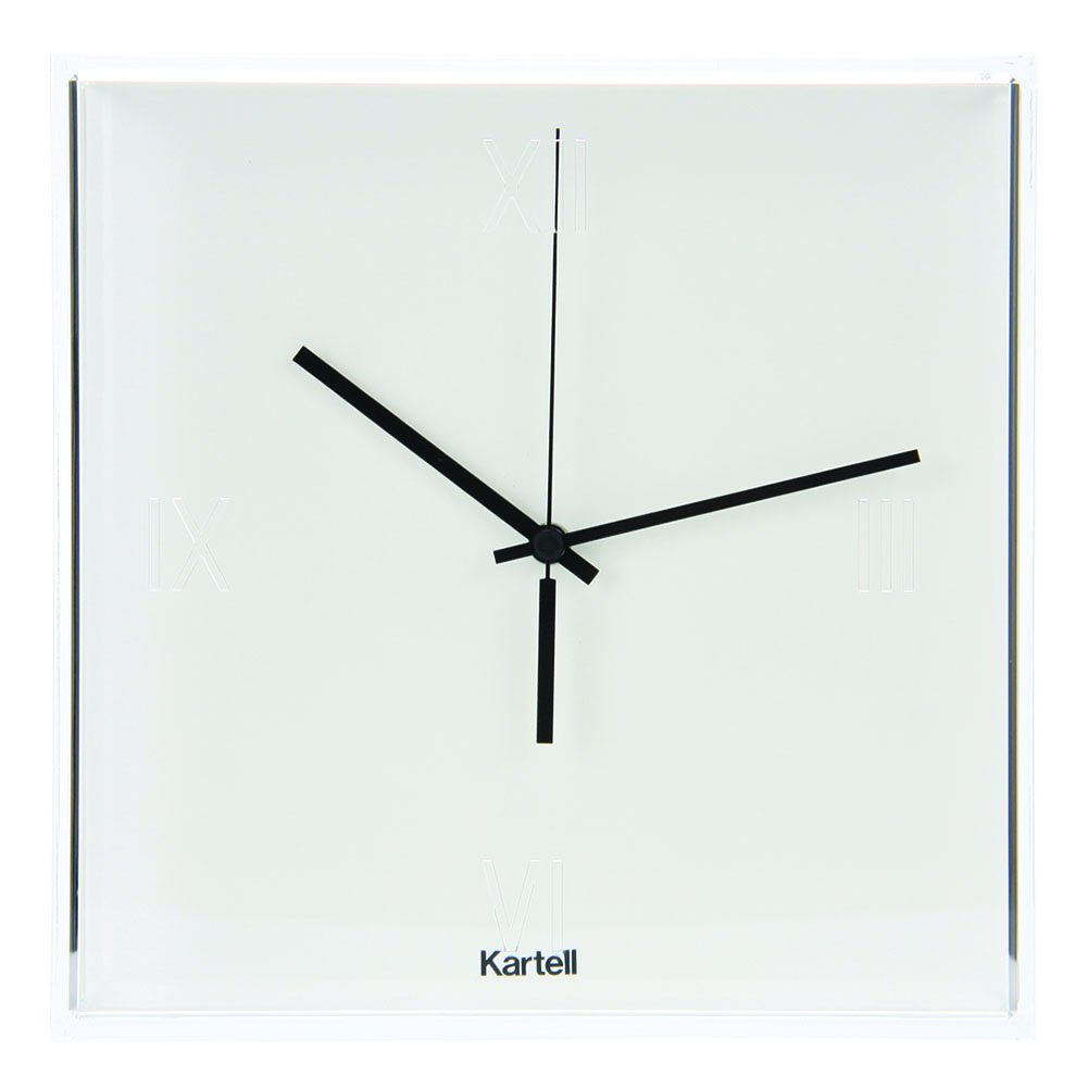 KARTELL([ カルテル ]) EU正規品 ィックタック(チックタック) Tic Tac クロック(時計)Clock (Matte) TIC-1900 ホワイト【壁掛時計インテリア】 [並行輸入品] B0081LQ0P4ホワイト(03/white)