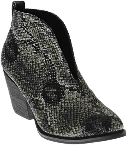 US Corkys 9 Womens Black B Holiday Snake M Boot Znrxnwv