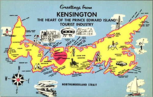 Greetings From Kensington Kensington, Canada Original Vintage - Kensington Canada