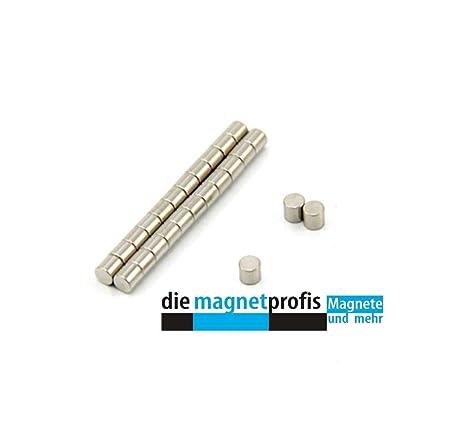 The Magnetprofis/100 N52 Neodymium Disk Magnets Set Diameter