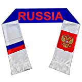 Perfect Hat Trick Official Russia Flag Scarf - Cборная