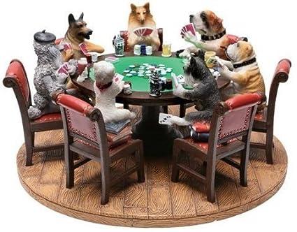 Perros Jugando Al Poquer Figura Decorativa Amazon Es Hogar