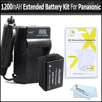 BATERIA para Panasonic Lumix dmc-fx100 fx150 DMC-FX 100 150