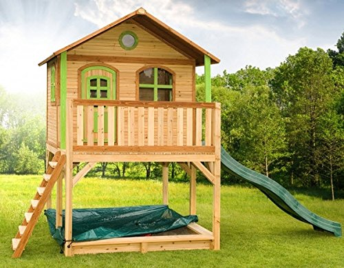 Wooden Playhouse Marc for Kids and Toddler