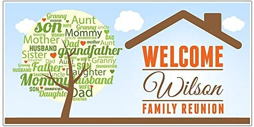 Toys For Family Reuion : Amazon family reunion party banner personalized