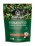 PlantFusion Fermented Superfood Protein Powder, Vanilla Chai, 10.6 oz Packet, USDA Organic, Gluten Free, Vegan, Non-GMO, Packaging May Vary For Sale