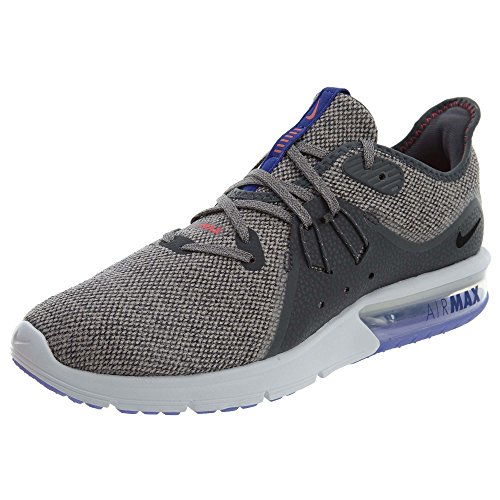 NIKE Herren Air Max Sequent 3 Laufschuhe, Mehrfarbig (Dark Grey/Black-moon 013)