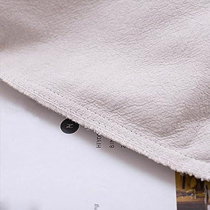JES/&MEDIS Cute Cat PatternPillow Case Linen Cotton Cushion Throw Pillow Cover Square 18 x 18