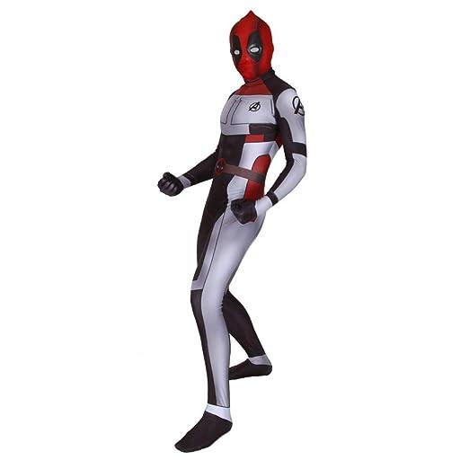 ERTSDFXA Guerra Cuántica Deadpool Disfraces Adulto Nino ...