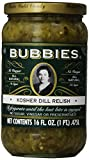Bubbies, Relish, Kosher Dill, 16 oz