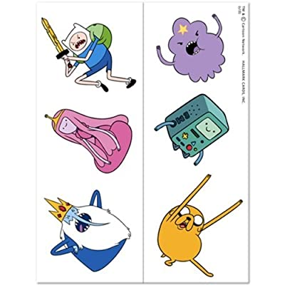 Adventure Time Temporary Tattoo Party Favors (12 ct): Toys & Games