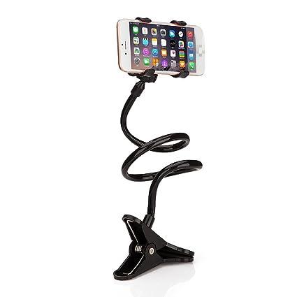 Haodou Soporte para teléfono celular Universal 360 grados de rotación Flexible Soporte para teléfono largo Clip Soporte perezoso Cuello de cuello ...