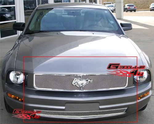 Ford Mustang Main Grille - 8