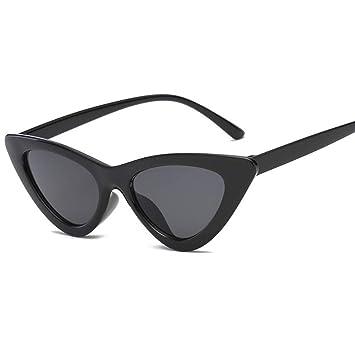 GAODGAS Gafas De Sol Retro De Triángulo Pequeño para Mujer ...