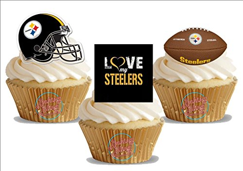 American Football Pittsburg Steelers Trio Mix- Fun Novelty