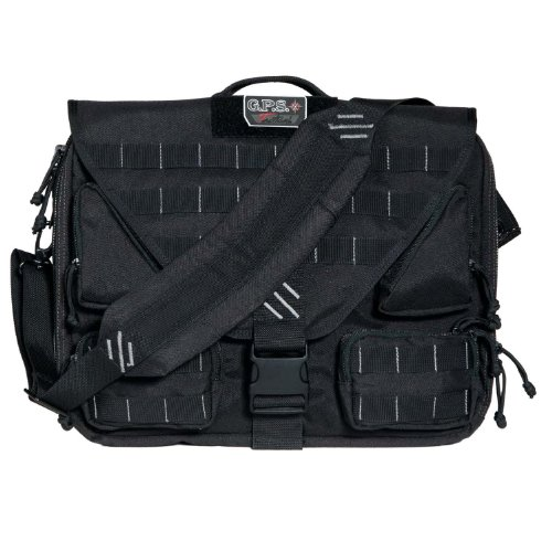 - G.P.S. Tactical Brief Case, Black