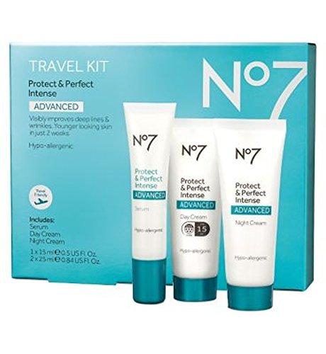 No7 Protect & Perfect Intense ADVANCED Travel Kit - No7保護&完璧な強烈な高度な旅行キット (No7) [並行輸入品]   B01MFG53MP