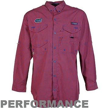 88a66f1f NCAA Columbia Florida Gators Gingham Super Bonehead Long Sleeve Button-Down  Shirt - Royal Blue