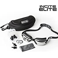 Incite Elite Swimming Goggles Swim Goggles Antifog with...