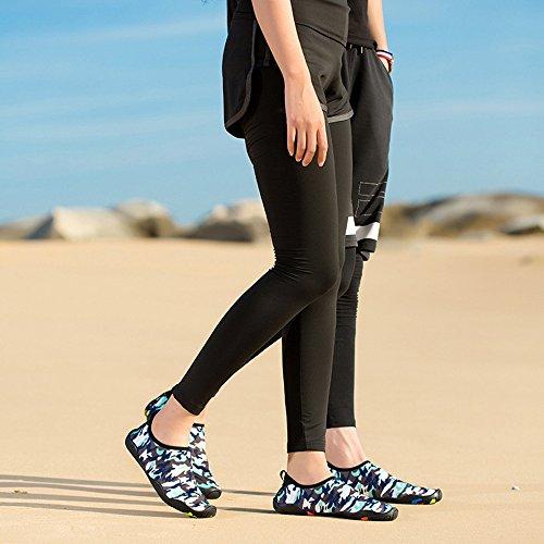 A Damen Herren Barfuß Schwimmschuhe EU44 Neoprenschuhe Wasserschuhe Strandschuhe Surfschuhe Aquaschuhe Badeschuhe EU36 Schuhe Rutschfeste Colorful 6vx4nTpwPq