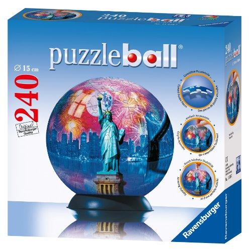 ravensburger new york city 240 piece puzzleball 11516. Black Bedroom Furniture Sets. Home Design Ideas