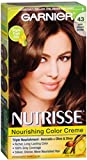 Garnier Nutrisse Haircolor Creme, Dark Golden Brown [43] 1 Each (Pack of 8)