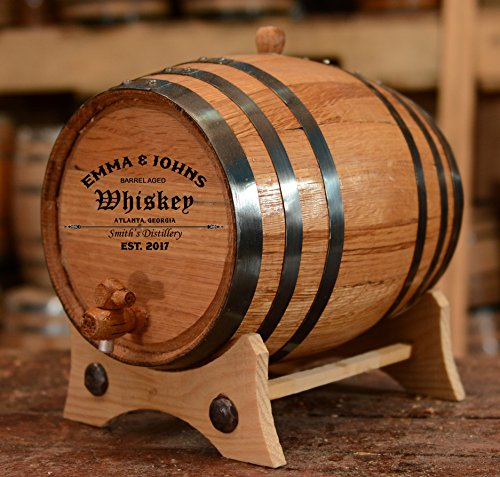 personalized-customized-american-white-oak-aging-barrel-barrel-aged-2-liters-black-hoops